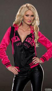 Sweat-Jack Black / Pink