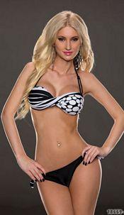 Bikini Bikini Black / White