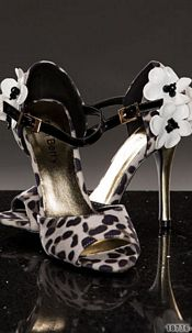 Pumps Leopard-brown