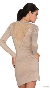 Long-Sleeved-Minidress Sandy