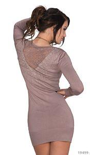 Long-sleeved-Minidress Cinder
