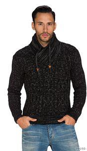 Pullover Black / Gray