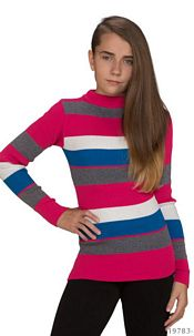 Knitted-Pullover Mixed / Pink