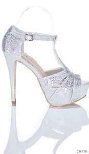 High Heels Silver