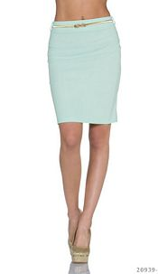Midi Skirt Green