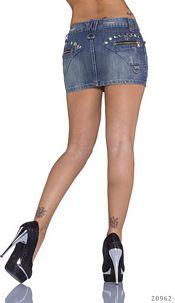Jeans-Mini Skirt Darkblue