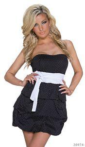Minidress Black / White