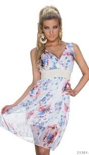 Minidress Mixed / White