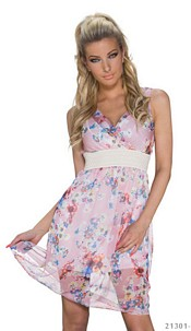 Minidress Mixed / Rose