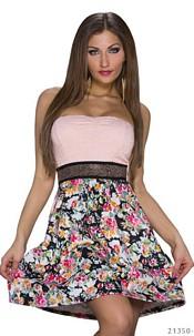 Mini-Dress Mixed / Rose