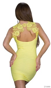 Minidress Yellow