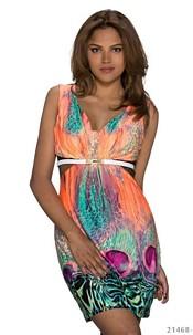 Minidress Mixed / Orange