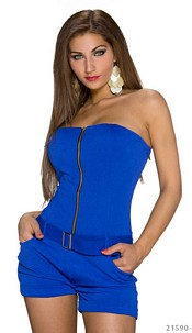 Hotpants-Jumpsuit Royalblue