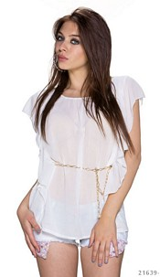 Minidress White