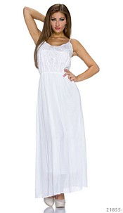 Maxidress White