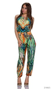 Jumpsuit Mixed / Green