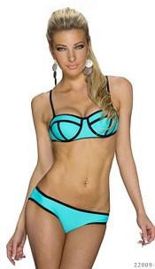 Bikini Turquoise-Groen