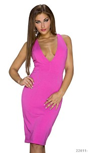 Mididress Fuchsia