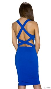 Mididress Royalblue