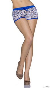 Hotpants Mixed / Royalblue