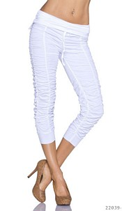 Capri-Pants White