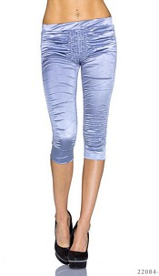 Capri-Pants Silver-gray