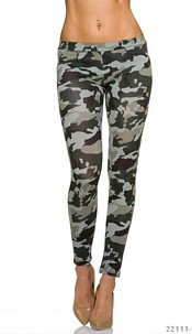 Leggings Camouflage / Olive
