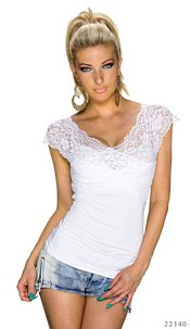 Short-Sleeved-Shirt White