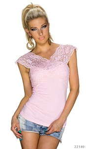 Short-Sleeved-Shirt Pink