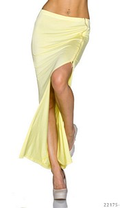 Maxi Skirt Yellow
