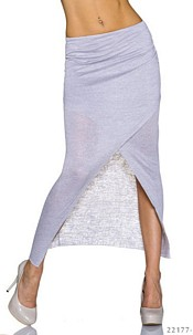 Maxi Skirt Lightgray