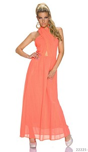 Maxi Dress Neonorange