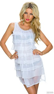 Minidress White