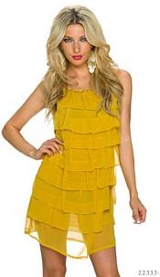 Minidress Mustard