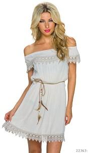 Minidress Cream