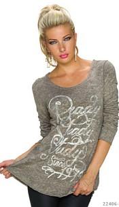Long-Sleeved-Shirt Beige