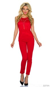 Jumpsuit Red