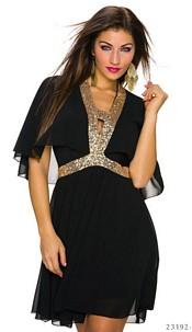Minidress Black / Gold