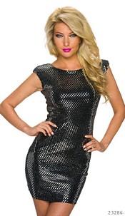 Minidress Black / Silver
