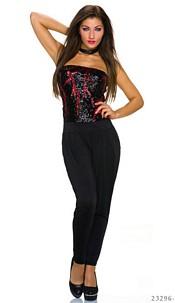 Jumpsuit Black / Red