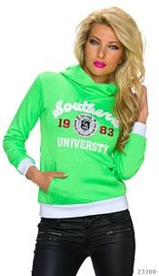 Pullover fluorescent Green