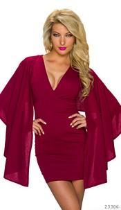 Minidress Wine-red
