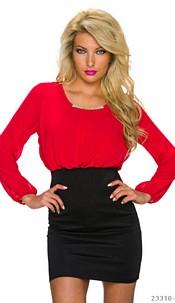 Minidress Red / Black