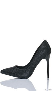High Heels-Pumps Zwart