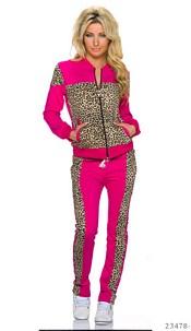 Jogging Suit Pink / Leopard
