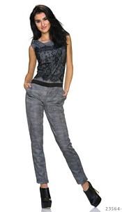 Jumpsuit Black / Gray