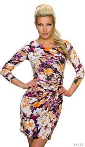 Mini-Dress Mixed / Purple