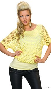 Mini-Dress Yellow