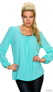 Blouse Turquoise-Green