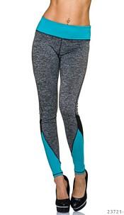 Joggingpants Gray / Blue